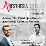 Anasthesia Success Podcast Banner